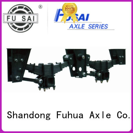 FUSAI hot sale independent trailer suspension quick transaction for dealer