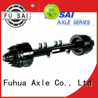 FUSAI small trailer axle manufacturer for wholesale