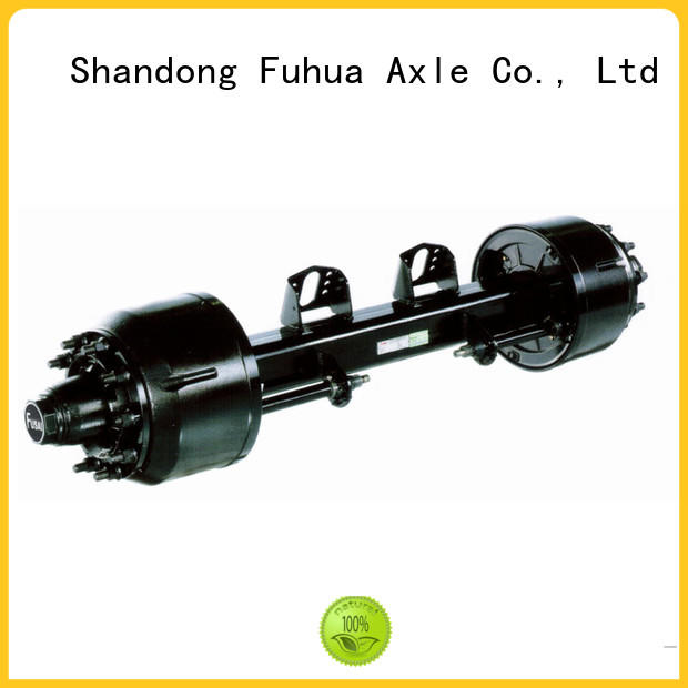 FUSAI best drum axle factory for truck trailer