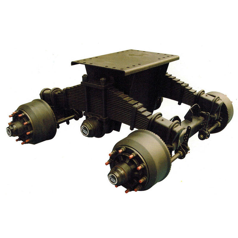 High Frame Bogie Suspension