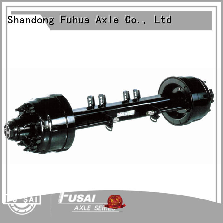 FUSAI top quality small trailer axle kit for importer