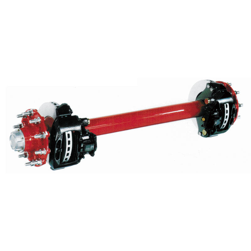 Disc brake axle series