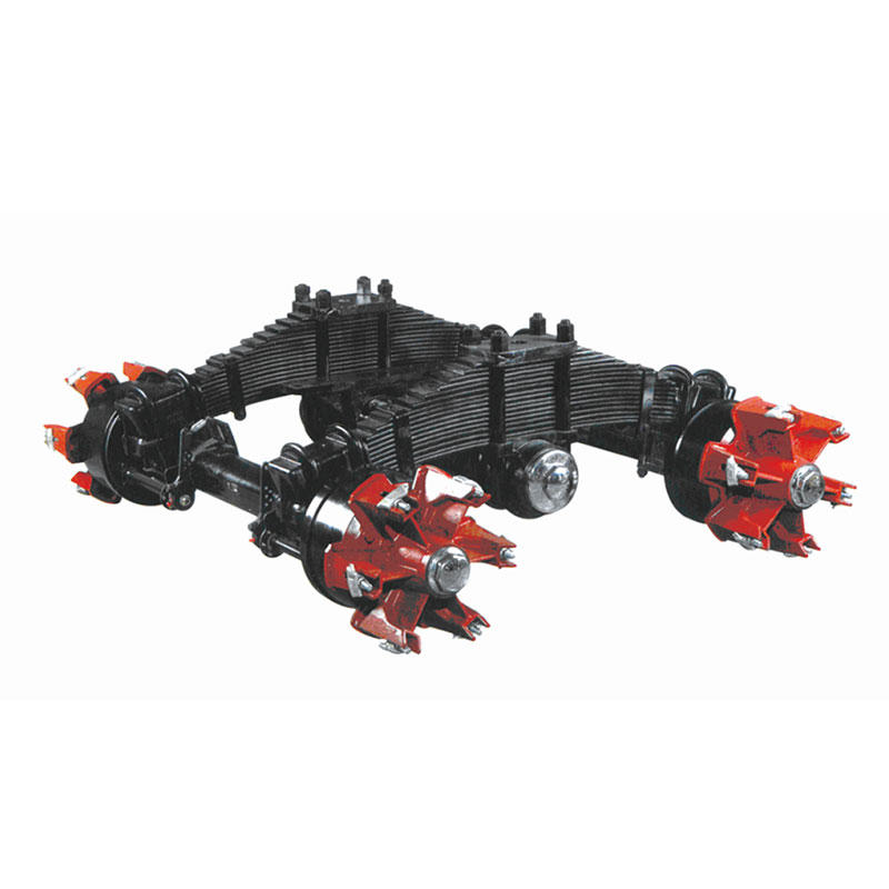 Low Frame Bogie Suspension