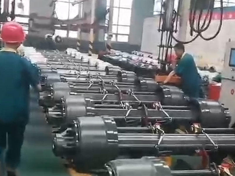 China Trailer Axle Factory