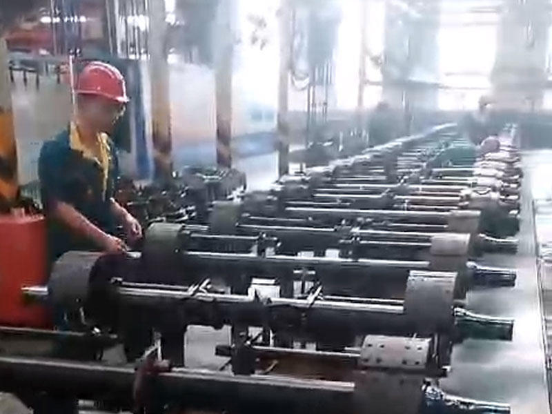 Shandong Fusai Axle Lowbed Trailer Axle Production