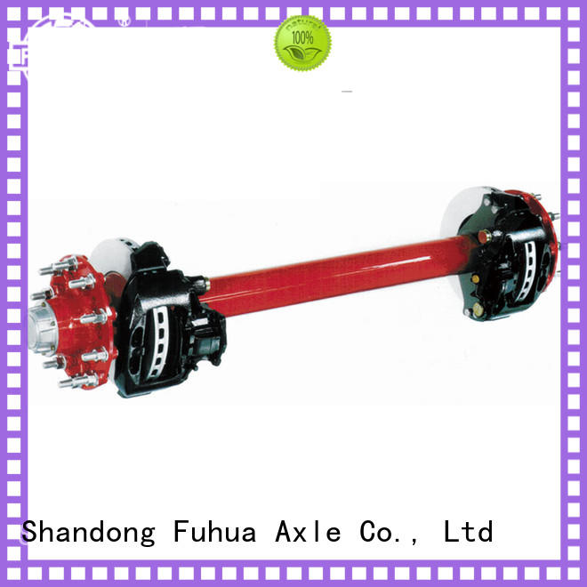 FUSAI disc brake axle from China for dealer