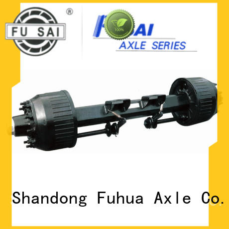 100% quality trailer axles with brakes manufacturer for aftermarket
