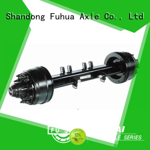 FUSAI competitive price small trailer axle manufacturer for sale