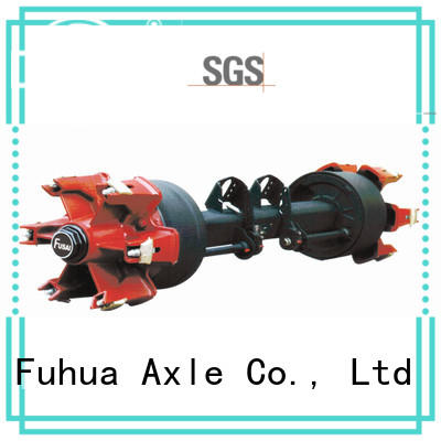 FUSAI 100% quality types of trailer axles factory for sale