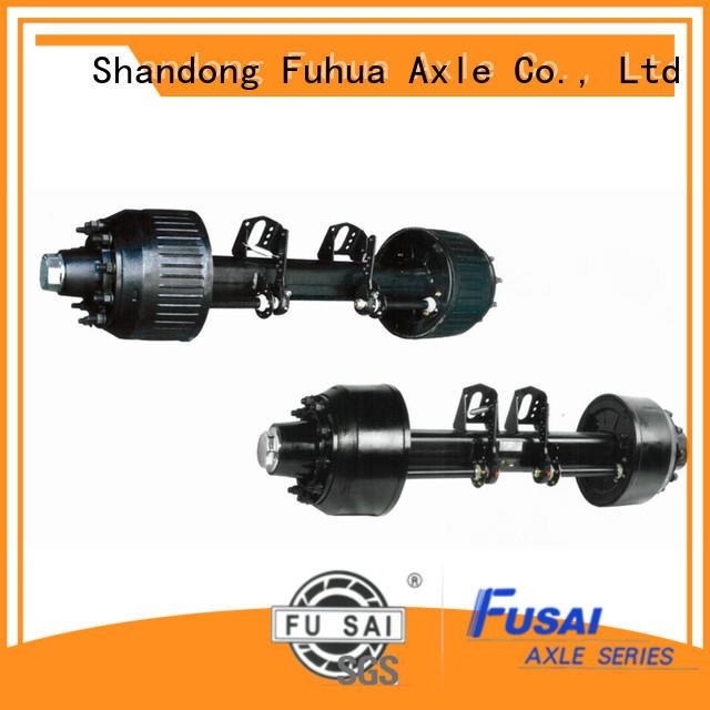 China braked trailer axles manufacturer
