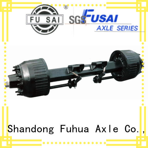 FUSAI trailer axles with brakes factory