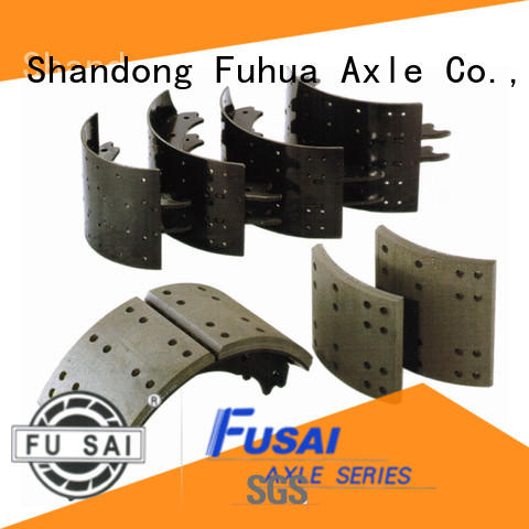 FUSAI strict inspection drum brakes from China for truck trailer