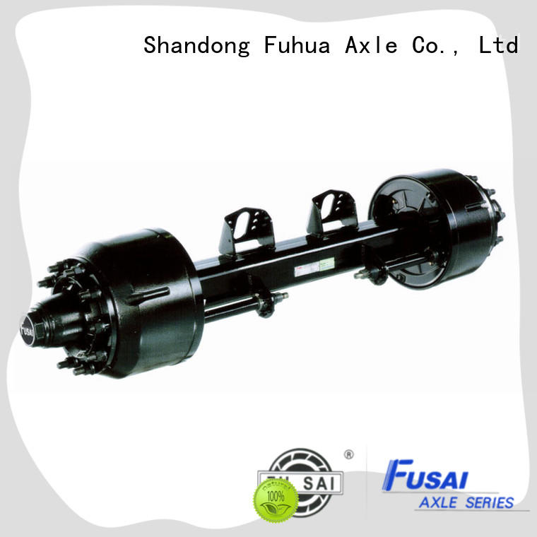 100% quality braked trailer axles trader for aftermarket
