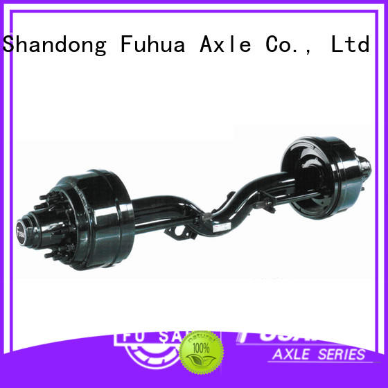 FUSAI top quality small trailer axle manufacturer for importer