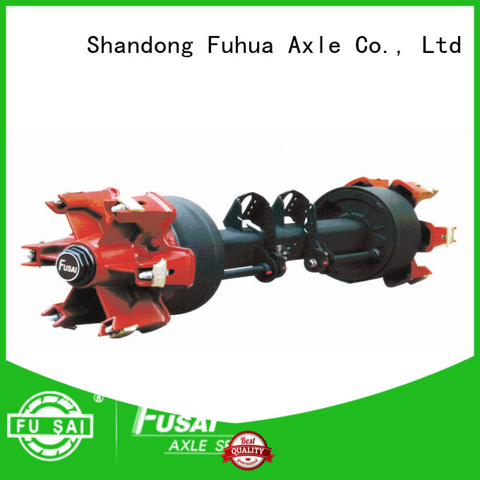 FUSAI best trailer axles with brakes manufacturer for aftermarket