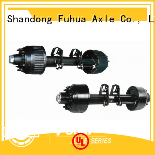 FUSAI best braked trailer axles manufacturer for aftermarket