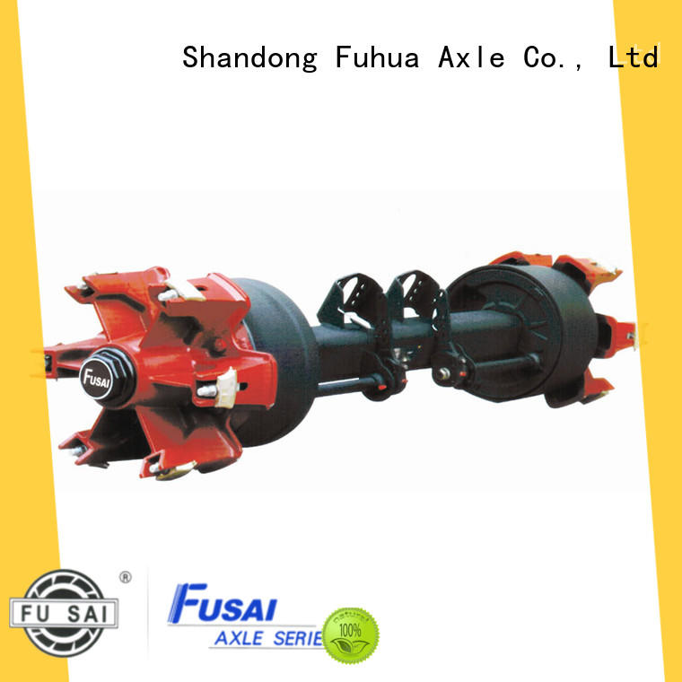 FUSAI torsion half axle factory for sale