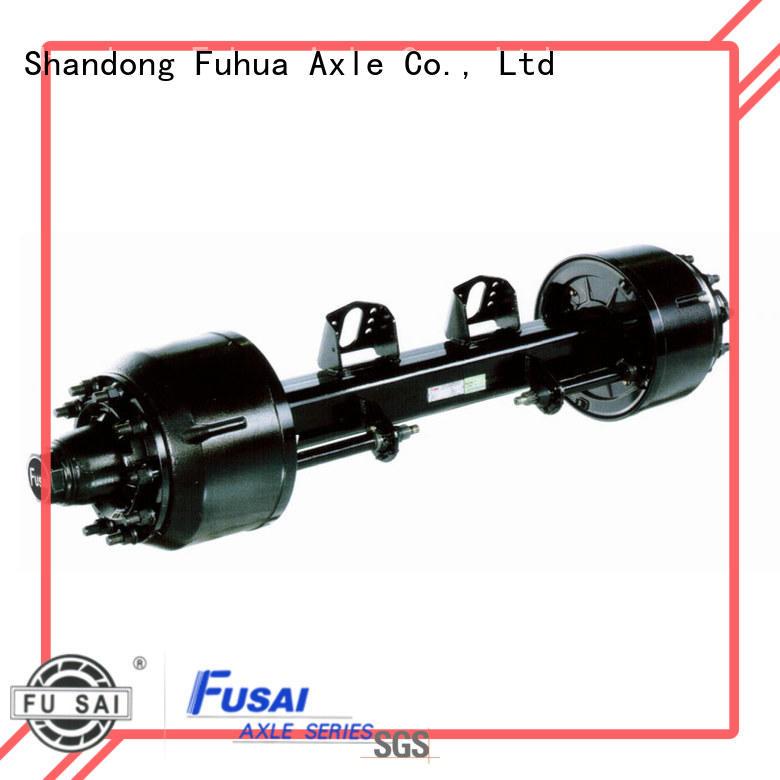best braked trailer axles manufacturer for truck trailer