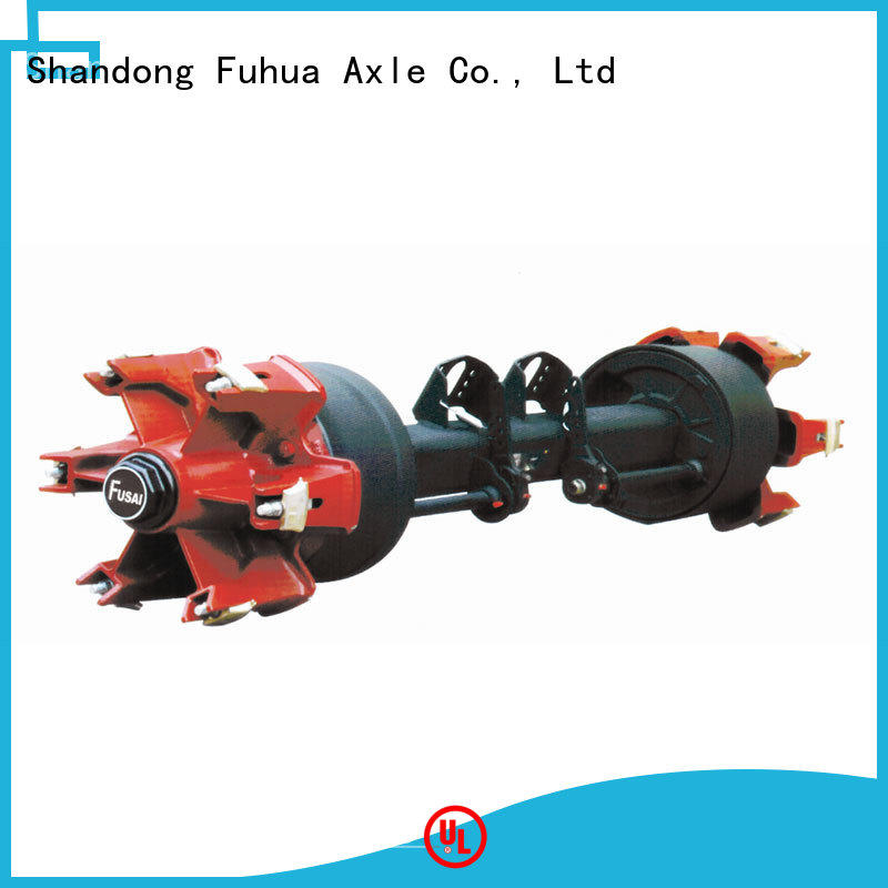 FUSAI 100% quality trailer axles with brakes factory for aftermarket