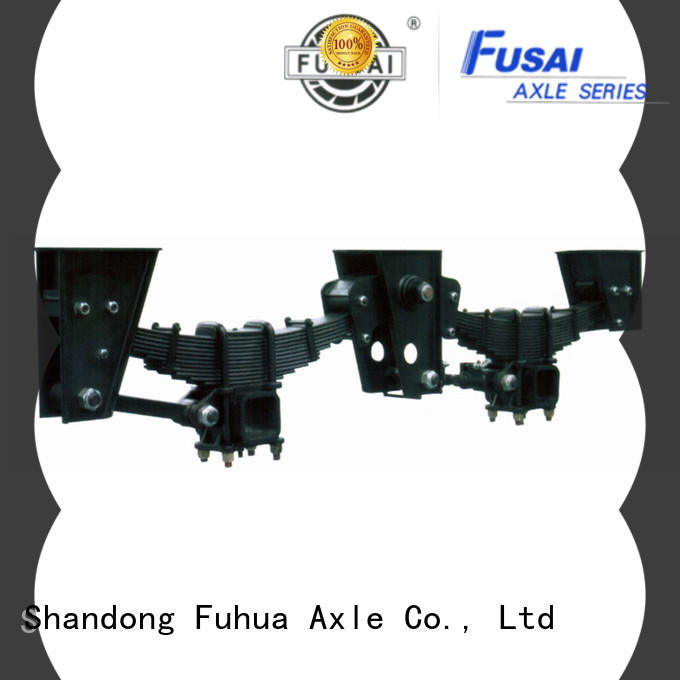FUSAI factory directly supply independent trailer suspension quick transaction for merchant