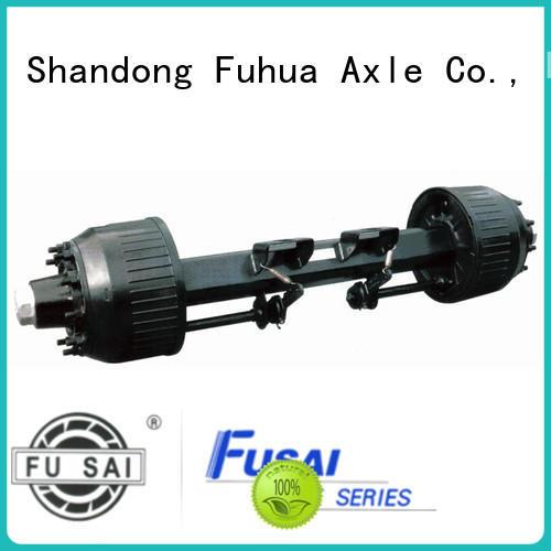 best braked trailer axles manufacturer