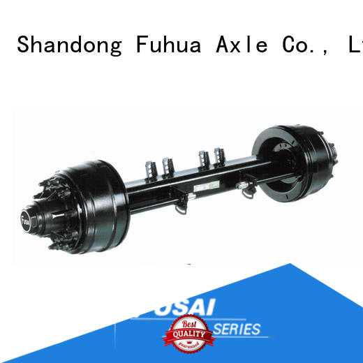 FUSAI competitive price trailer axles for importer