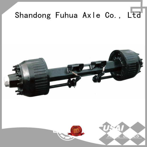 FUSAI best trailer axles with brakes trader for truck trailer