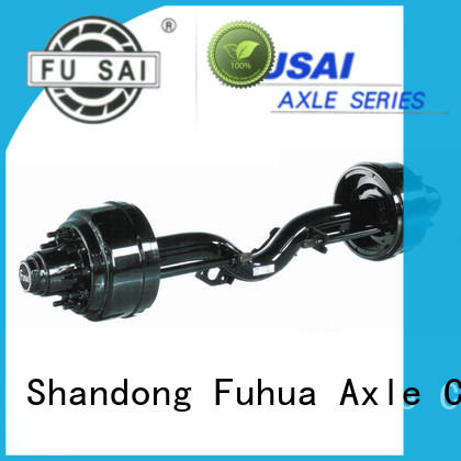 FUSAI competitive price small trailer axle trader for sale