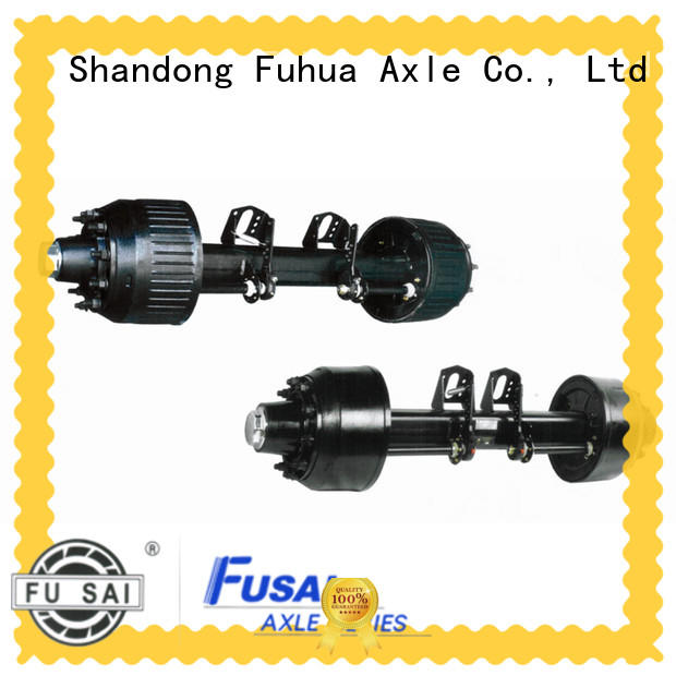 China trailer axles with brakes factory