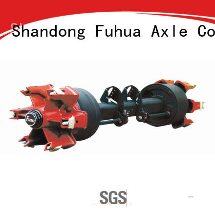 FUSAI trailer axles with brakes factory for aftermarket