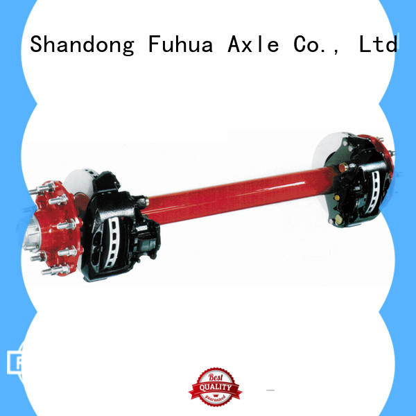 FUSAI disc brake axle from China for businessman