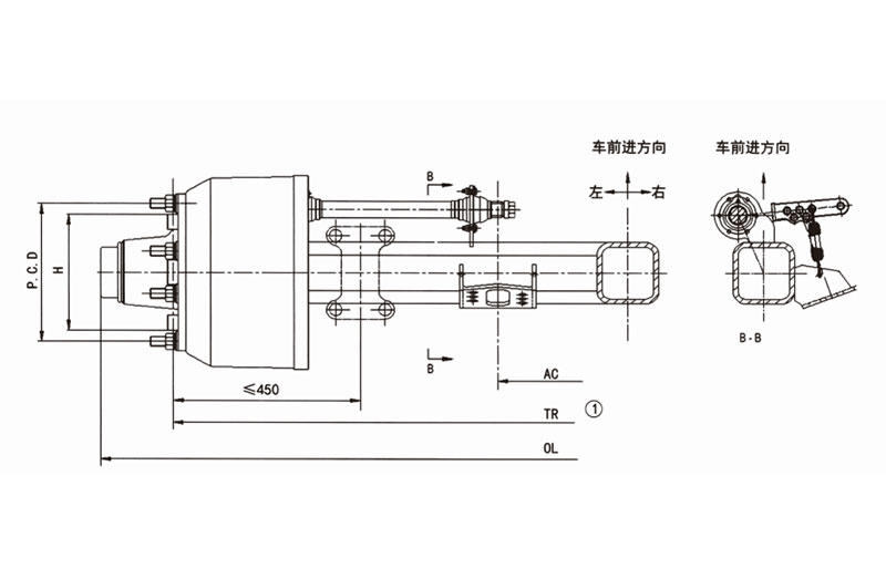 China types of trailer axles trader for sale-1