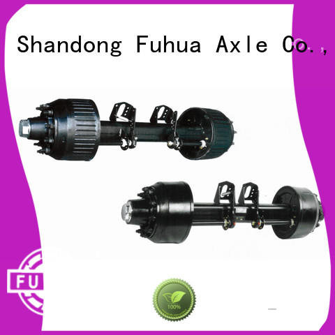 FUSAI trailer axles with brakes trader for truck trailer