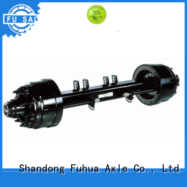 FUSAI small trailer axle trader for importer