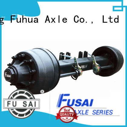FUSAI top quality trailer axles manufacturer for sale