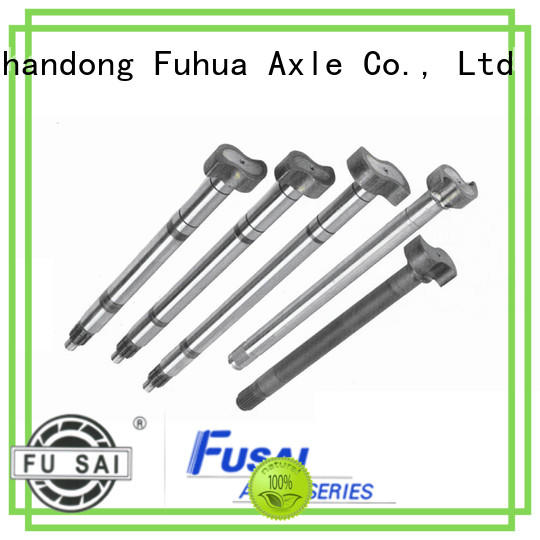 FUSAI top quality trailer spindle and hub kits quick transaction for importer