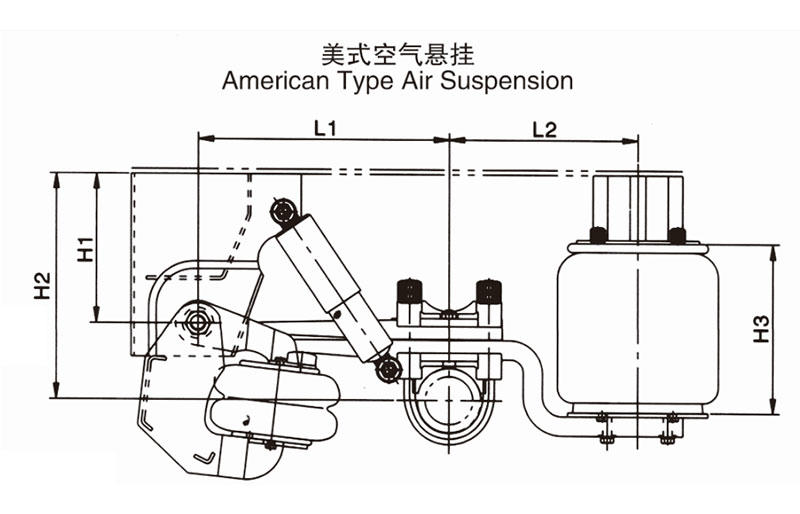 FUSAI air suspension factory for truck trailer-2