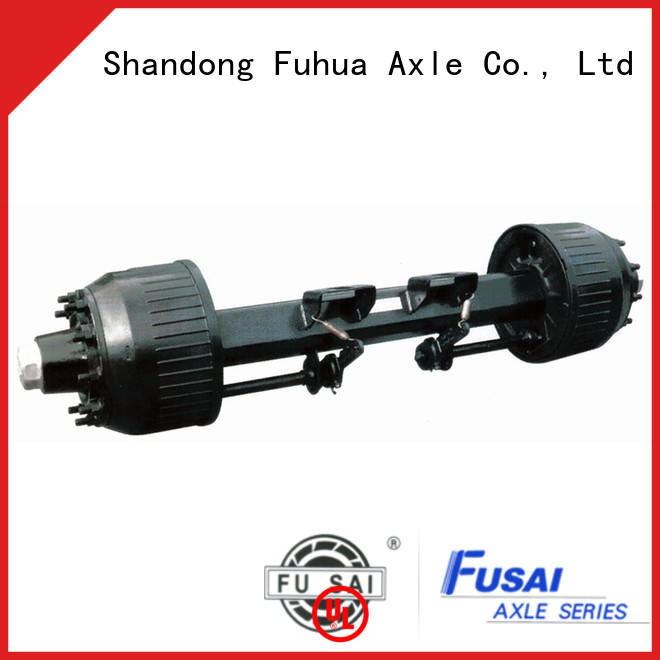 China braked trailer axles trader for sale
