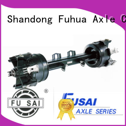 FUSAI new trailer axles manufacturer for importer