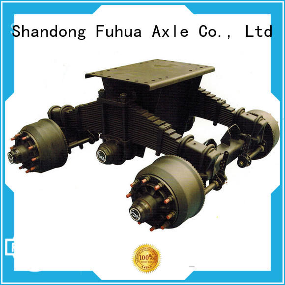 FUSAI customized trailer bogie purchase online for importer