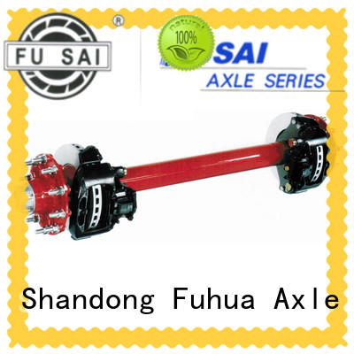 hot sale brake axle from China for merchant FUSAI