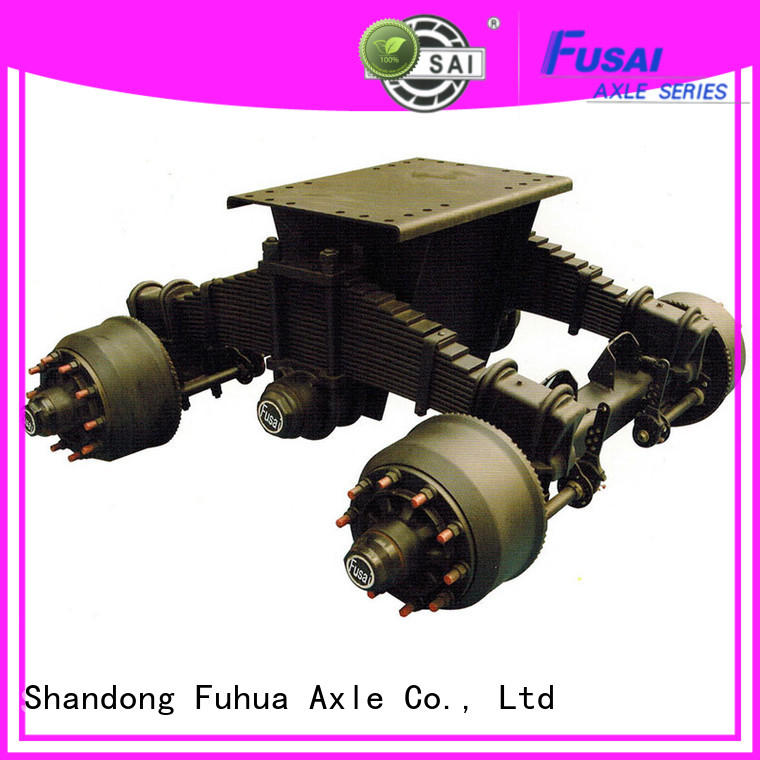 FUSAI trailer bogie source now for importer