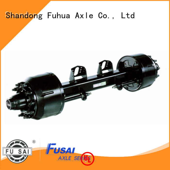 FUSAI braked trailer axles factory for sale