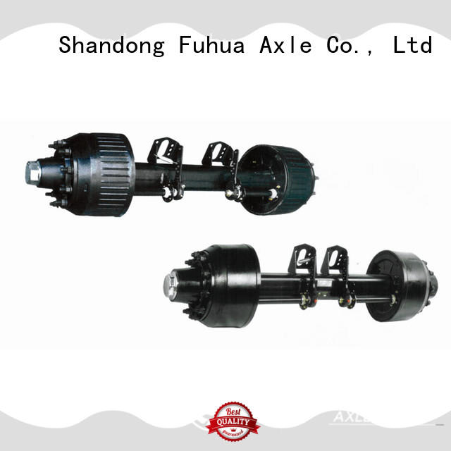 FUSAI China braked trailer axles manufacturer