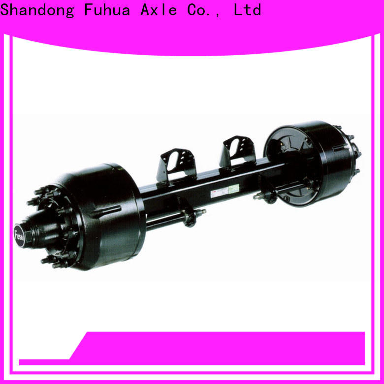 FUSAI types of trailer axles factory for truck trailer
