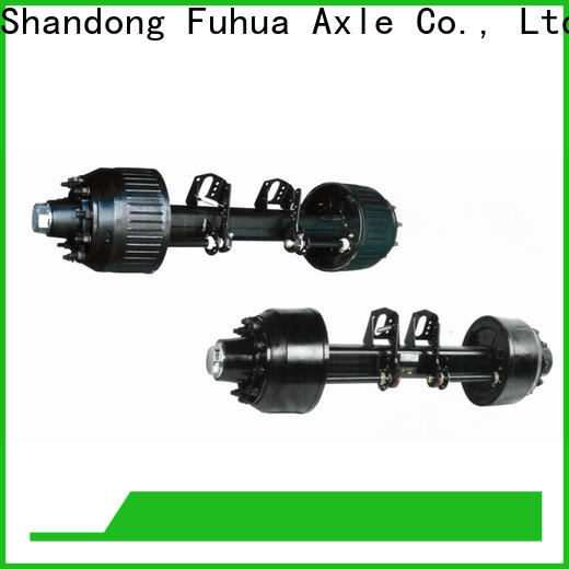 FUSAI braked trailer axles trader for aftermarket