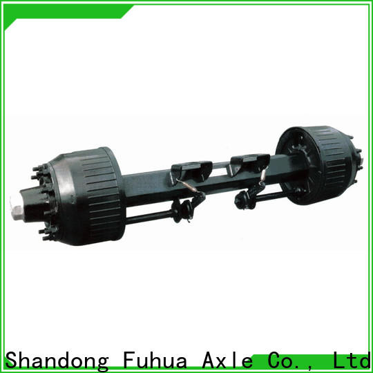 FUSAI 100% quality drum axle manufacturer for truck trailer