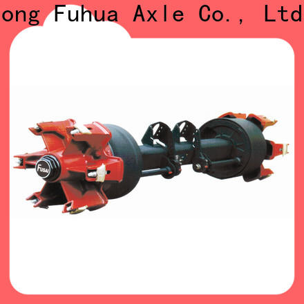 FUSAI best trailer axles with brakes factory