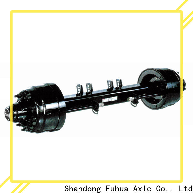 FUSAI new trailer axles factory for wholesale