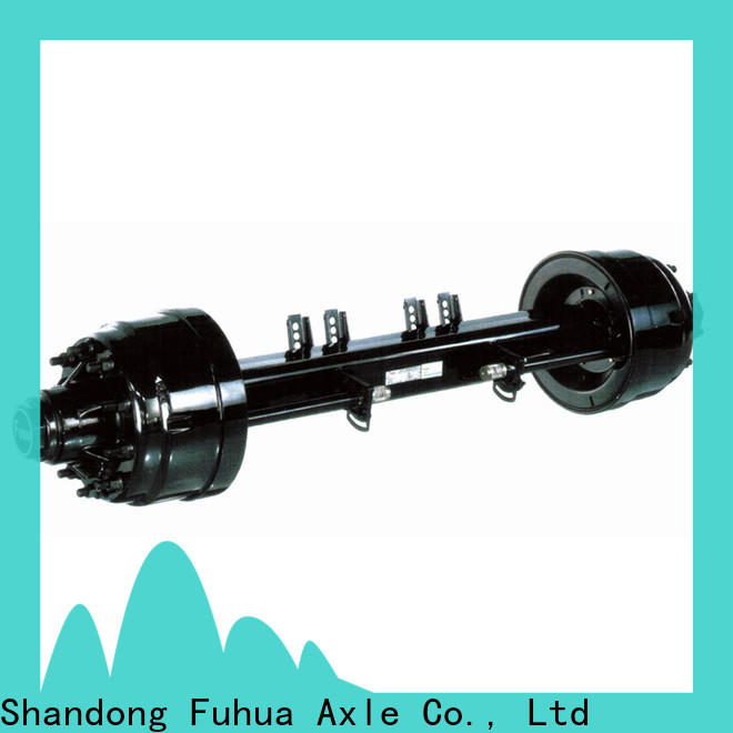 top quality trailer axles factory for wholesale